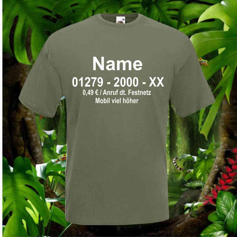 T Shirt Fur Dschungelcamp Fans Herren Damen Einseitig